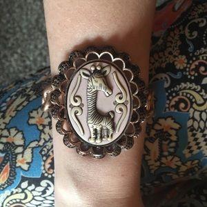 Betsey Johnson giraffe bracelet